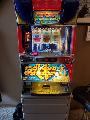 Sinbad adventure slot machine for Sale in St. Peters, MO
