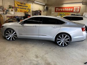 """Rims only 22""""inch spec rims Rims are 5 by 120 for Sale in Roseville, MI"""