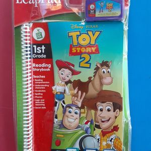 LeapPad Toy Story 2 First Grade Reading Book w/Electronic Cartridge (New) L@@K!!! for Sale in Mesa, AZ