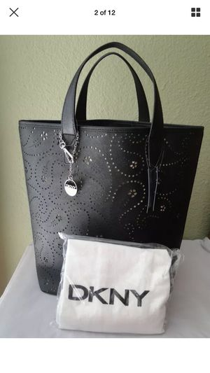 DKNY Black Leather Bag Purse new for Sale in Modesto, CA