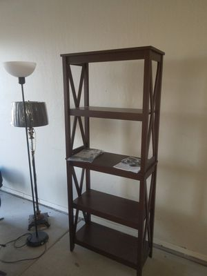 Wooden 6 foot tall shelving for Sale in Chandler, AZ