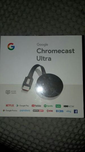 Chromecast ultra for Sale in Granbury, TX