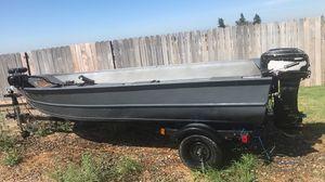 14 foot aluminum John boat for Sale in Modesto, CA
