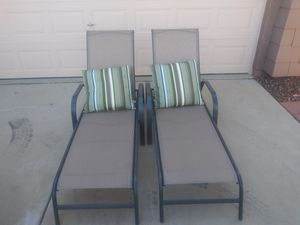 Outdoor patio pool loungers for Sale in Surprise, AZ