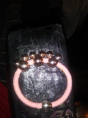 Disneys Brass micky mouse. 3 charmed hair tie for Sale in Long Beach, CA