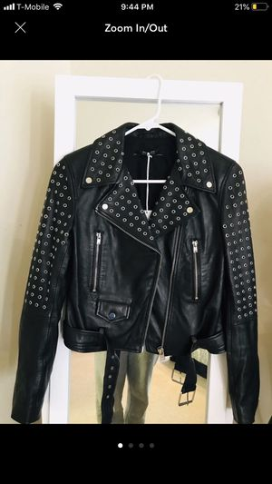 Zara leather jacket for Sale in Arlington, VA