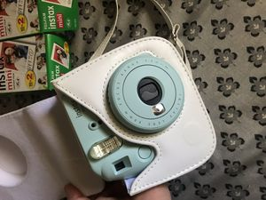 Instax instant camera and protective cover for Sale in Lake Wales, FL