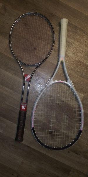 Wilson T-3000 n Hope 4 1/4_L2 tennis rackets for Sale in Las Vegas, NV