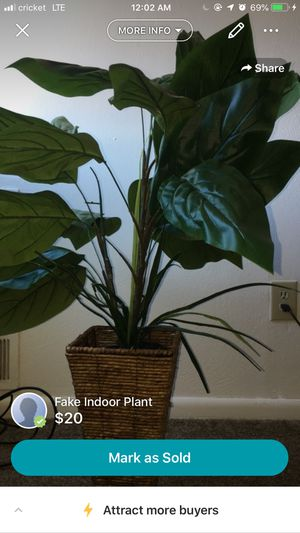 Fake indoor plant for Sale in Hampton, VA