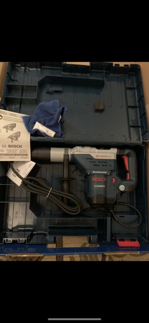 Bosch sds rotary hammer drill for Sale in Fort Lee, NJ