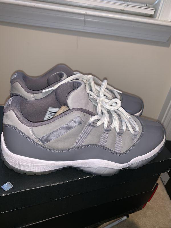 Jordan cool grey low 11s (Sz 10.5)