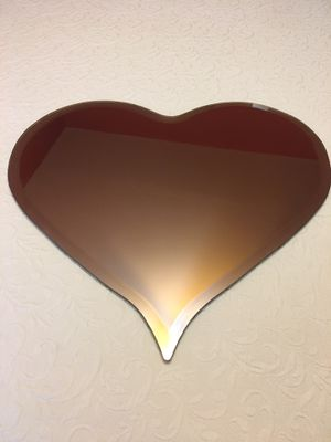Unique heart shaped mirror for Sale in Shelby Charter Township, MI