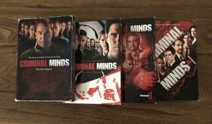 Criminal Minds seasons 1-4 for Sale in Lovettsville, VA