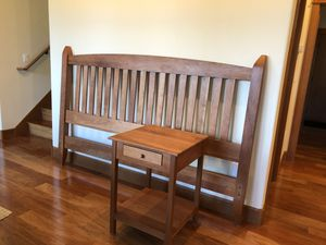 Solid wood cherry KING Bedroom SET for Sale in OR, US