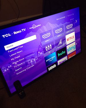 32'inch tcl tv for Sale in Baltimore, MD