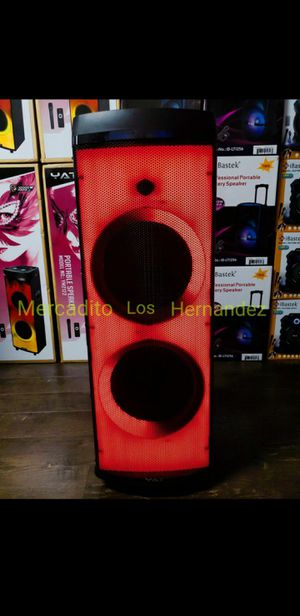 """Bocina Bluetooth Speaker Wireless 🎤 💥 SPECIAL PRICE LATEST MODEL💥 Nueva 2 x 12"""" WOOFERS SUPER BASS🔊 Rechargeable 🔋+++ for Sale in Los Angeles, CA"""