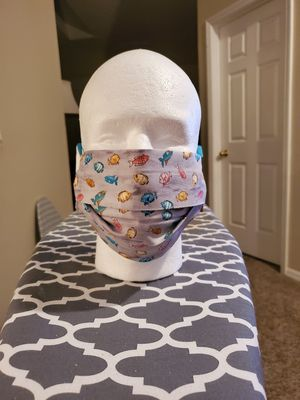 Little Fish Face Mask for Sale in Clermont, FL