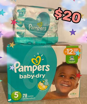 Diapers & Wipes for Sale in San Jacinto, CA