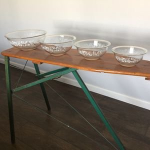 Vintage Pyrex Nesting, Mixing Bowl Set for Sale in Mesa, AZ