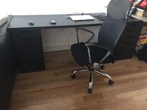 IKEA Desk Set including chair for Sale in Tampa, FL