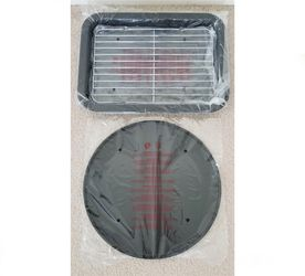 Broiler Baking Drip Pan & Pizza Pan Set for Toaster Oven or Oven for Sale in Cape Coral,  FL