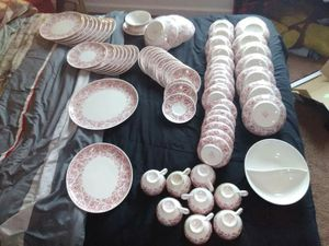 71 piece real fine China set for Sale in Quincy, IL