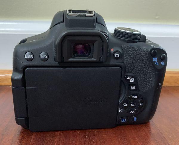 Canon EOS Rebel T6i EF-S 18-55mm IS STM Kit