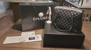 100% Authentic Chanel city shopper tote Caviar for Sale in Lewisville, TX
