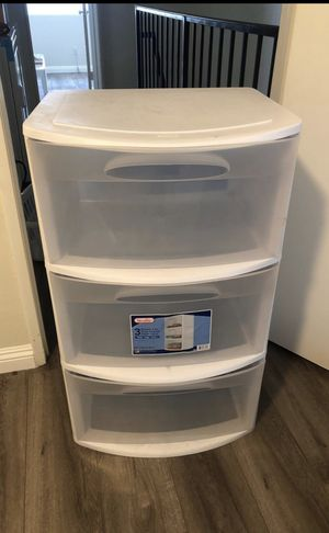 Plastic drawers for Sale in Glendale, CA