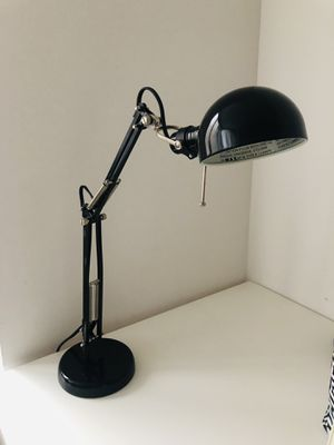 IKEA black Forsa desk lamp for Sale in New York, NY