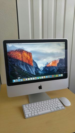🍎Apple iMac Computer Desktop (2009) / Core 2 Duo / 4 GB Memory / 320 GB Hard drive / System macOs El Capitan for Sale in Homestead, FL
