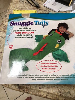 new in box still dragon Snuggie tail 12$ for Sale in Spring Valley, CA