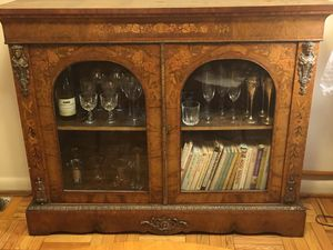 Antique French Bookcase/Cabinet for Sale in Arlington, VA