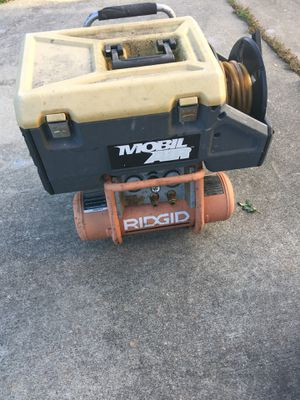 Ridgid tool box / air compressor/ nail guns for Sale in Roseville, MI