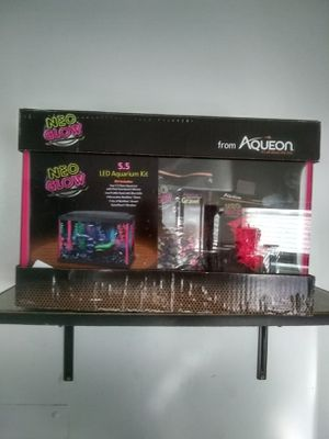 Neo glow fish tank for Sale in West Hollywood, CA