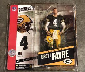 Brett Favre Mcfarlane figure Green Bay packers new in box for Sale in Bothell, WA