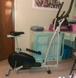 Used Elliptical exercise bike is good condition pick up only for Sale in New York, NY