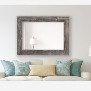 "Wall Mirror Distressed Grey Driftwood 43.5"" X 55.5"" for Sale in Rockville, MD"