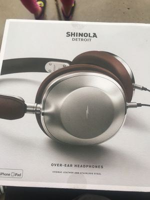 Shinola Detroit headphones for Sale in Sterling Heights, MI