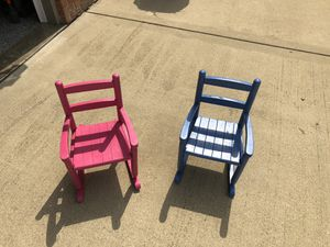 Boys and Girls rocking chairs for Sale in Belleville, IL