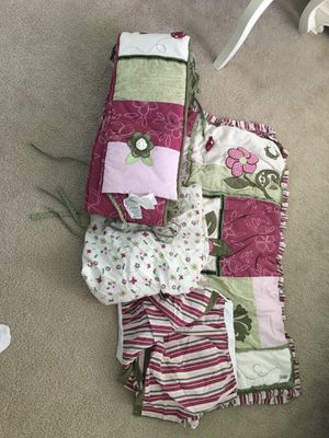 Cocalo Angelica baby girl crib bedding set for Sale in Arvada, CO