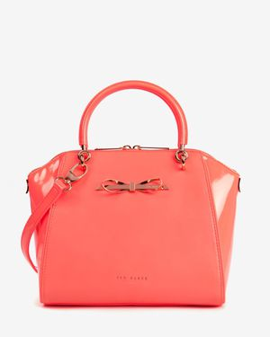 Ted baker orange color block slim tote bag for Sale in Herndon, VA