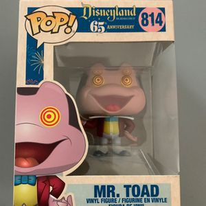 Funko Pop Disney 65th Anniversary Mr Toad 814 for Sale in San Diego, CA