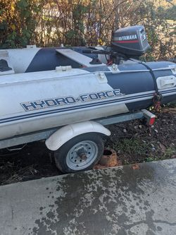 HydroForce Inflatable Boat 10.5 Feet for Sale in Damascus,  OR