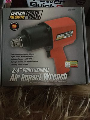 Air impact wrench for Sale in Las Vegas, NV