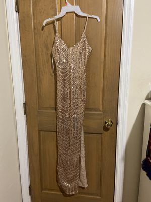 rose gold dress (homecoming or prom) size small for Sale in Miami, FL