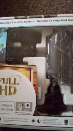 Wireless security camera for indoor/outdoor ...$60...obo...new still in box never opened for Sale in Virginia Beach, VA
