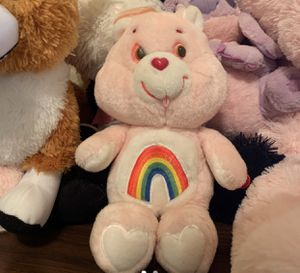 pink care bear for Sale in Wilmer, TX