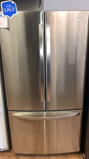 NO CREDIT!! LG CONTACT TODAY! Refrigerator Fridge Bottom Freezer #1468 for Sale in Pasadena, MD