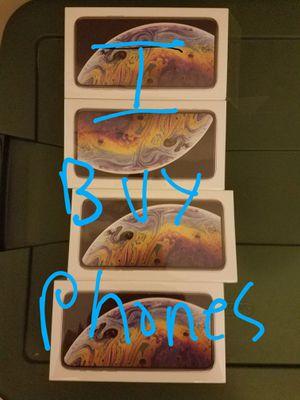 Wanted!!! Iphone xs max for Sale in Atlanta, GA